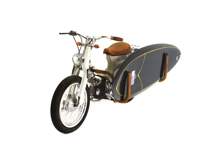 C70 Brown | Deus Ex Machina | Custom Motorcycles, Surfboards, Clothing and Accessories