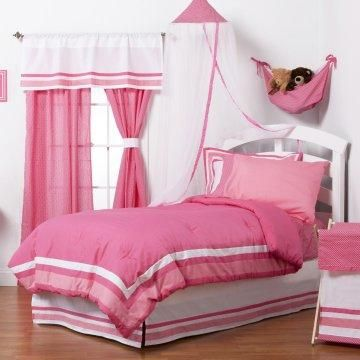 Simplicity Hot Pink Bedding Set.