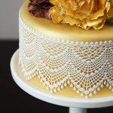 Chef Alan reveals all the secrets to using Cake Lace in this comprehensive video. Learn how to fill, peel, color, attach and even revitalize dried out lace!