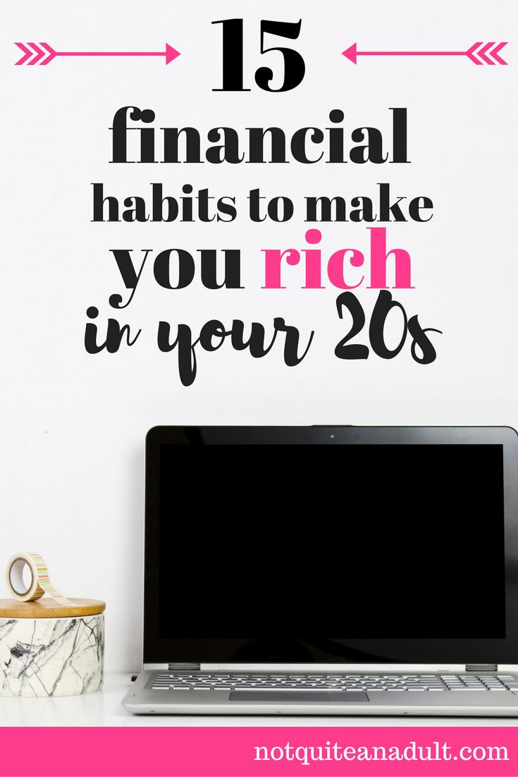 Building good financial habits when you're young is key to becoming a millionaire.