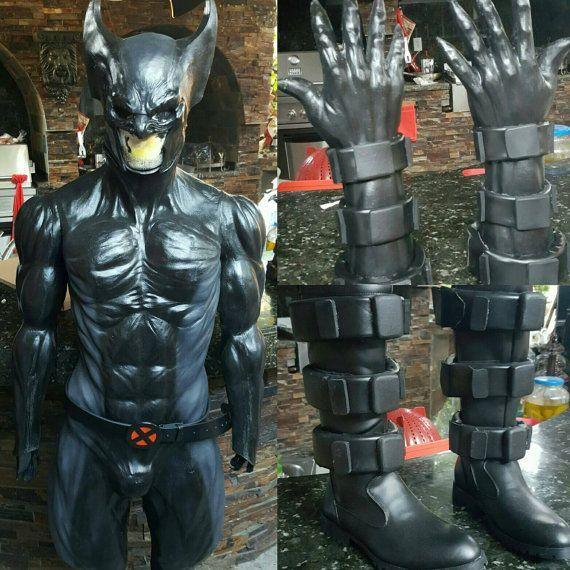 X force berserker latex costume by REbirthMxD on Etsy