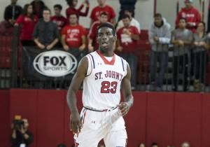 St. John's freshman Rysheed Jordan will not play in Saturday's home game against Youngstown State. The 6-4 freshman is with his mother, Amina Robinson, who has been hospitalized in Philadelphia for the past two days. Jordan has played in nine games - starting six - and is averaging 6.3 points and 3.0 assists.