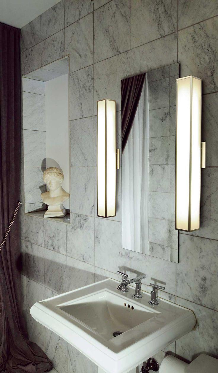 bathroom modern lighting. garbo dimmable bath bar by edge lighting garbow25f1d bathroom modern