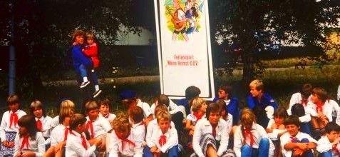Thälmannpioniere,DDR Pioniere,Jungpioniere,DDR Kinder,DDR Pioniertreffen in Karl-Marx-Stadt(Chemnitz),FDJ,Freie-Deutsche-Jugend