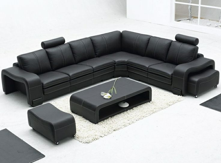 Modern Leather Sectional Sofa Tosh Furniture TOS FY560 3 Part 76