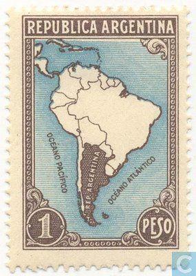 Argentina [ARG] - South America 1945