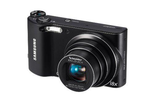 Samsung WB150F Long Zoom Smart Camera - Black (ECWB150FBPBUS) - http://digitalcamerawithwifi.ellprint.com/samsung-wb150f-long-zoom-smart-camera-black-ecwb150fbpbus/