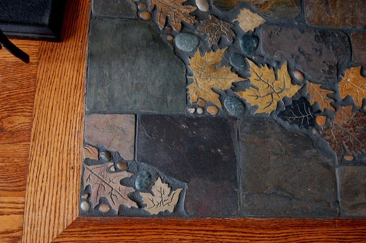 the wife's slate tile hearth work. You can follow her pins: http://pinterest.com/homescape/