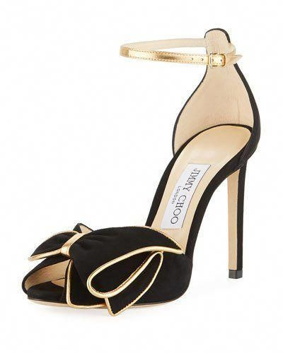f80803c536e8 X48Q4 Jimmy Choo Karlotta Two-Tone Pumps  JimmyChoo