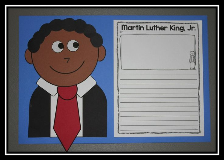 Martin Luther King Jr Craft And Informational Writing