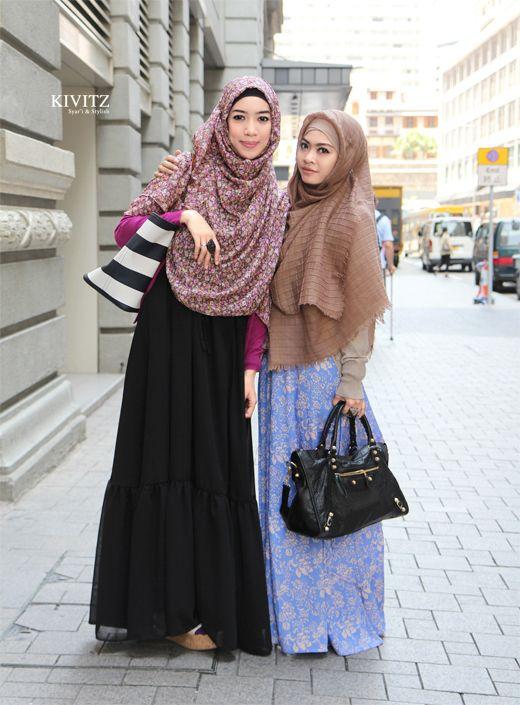 KIVITZ Pakaian muslimah yg baik ialah pakaian Taqwa (Boleh dibawa ke solat)
