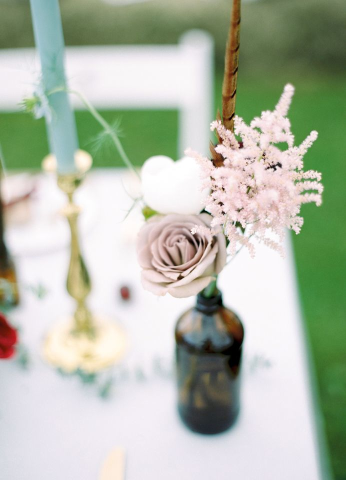 Event Hire - Brown Bottles (Assorted):  Narrative Hire  //  Styling:  Tebbey & Co  //  Image:  Molly Matcham