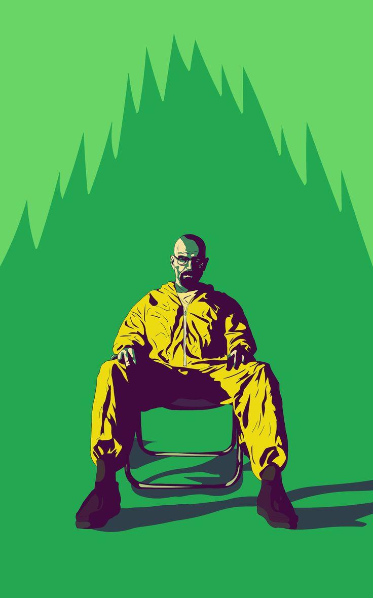 Walter white green apron - Breaking Bad