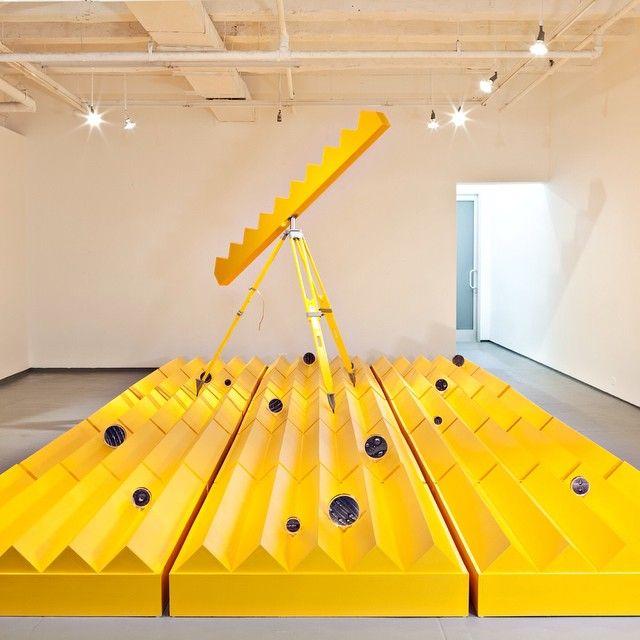 "The Large beautiful installation: "" Arrechea be exibiting his work at: "" La Bienal de la Habana ""2015 CUBA."