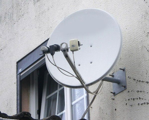 Antenne TV parabolique