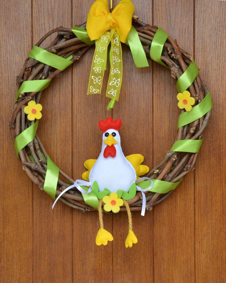 #garland #spring  #easter #flower #diy #handmade #handmadecrafts #felt