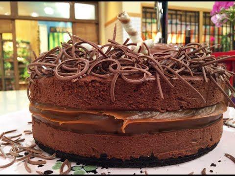 Torta helada de mousse de chocolate en 5 pasos - Recetas – Cocineros Argentinos