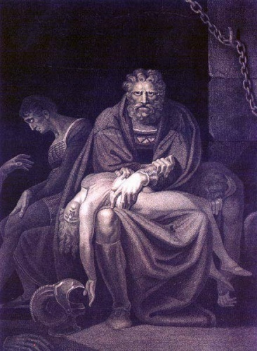 Count Ugolino della Gherardesca was an Italian politician, nobleman and naval commander accused of treason. In Dante's Inferno (Canto XXXIII, the level of hell where the traitors were punished) he has been described eating the skull of Ruggeri Archbishop, the man who condemned him to die for starving in Muda Tower.
