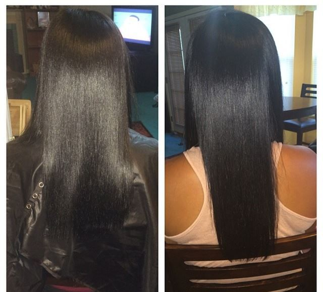 """Re-post from @brialor3n on Instagram. """"For those who wanted to see my results from Hairfinity. My hair grew an inch with the 1month supply. It feels softer, fuller and most important healthy! SHOP Hairfinity Hair Vitamins http://hairfinity.com/Order.htm"""