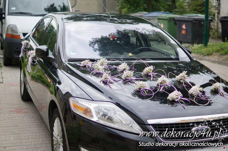 Samochód dla Mlodej Pary - www.dekoracje4u.pl