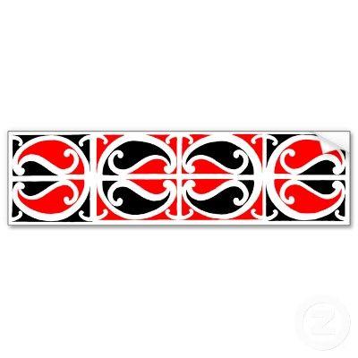 Maori Kowhaiwhai Pattern 3