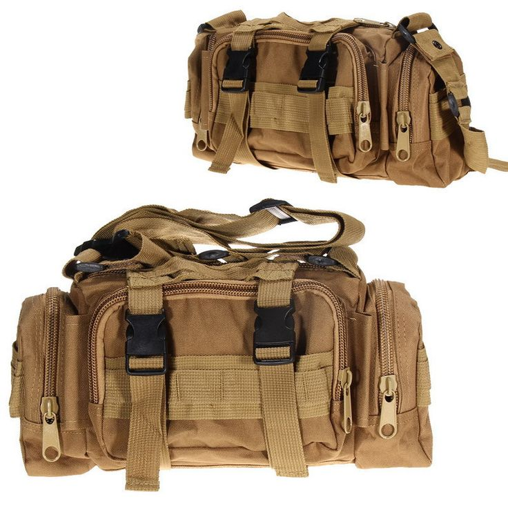 Mid Size Tactical Outdoor Military Style Waist Pouch Bag 6 Patterns/Colors