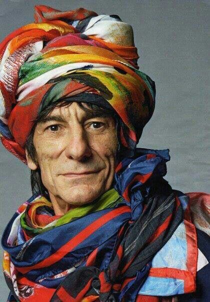 Ronnie Wood, miembro de The Rolling Stones desde 1975
