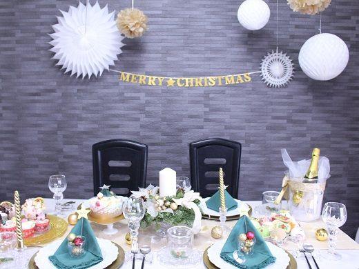 100円ショップもフル活用!クリスマスのテーブルコーディネート術 #tablecordinate #christmas #papernapkin