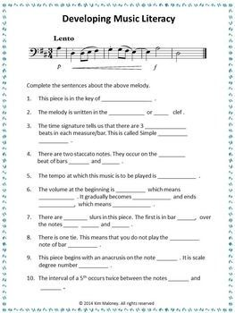 Develop Music Literacy! FREE DOWNLOAD. Grab it before it is deactivated.