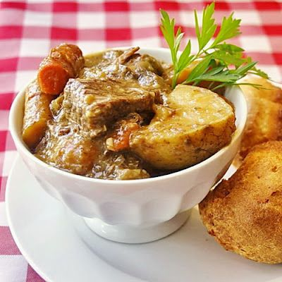 Irish Ale Beef Stew - A perfect St. Patrick's Day meal.