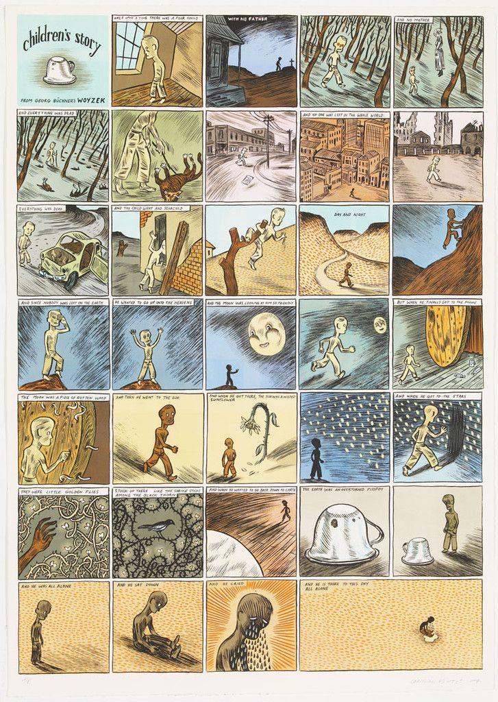 Conrad Botes Print Children's Story – Teken