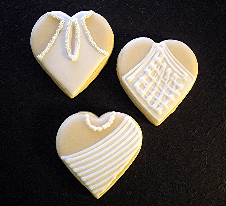 35 best images about all things wedding on pinterest for Wedding dress cookie cutters