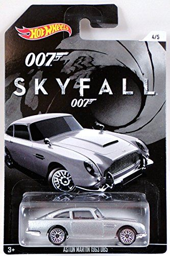 2015 James Bond Series Skyfall Aston Martin 1963 DB5 Coupe @ niftywarehouse.com #NiftyWarehouse #Bond #JamesBond #Movies #Books #Spy #SecretAgent #007
