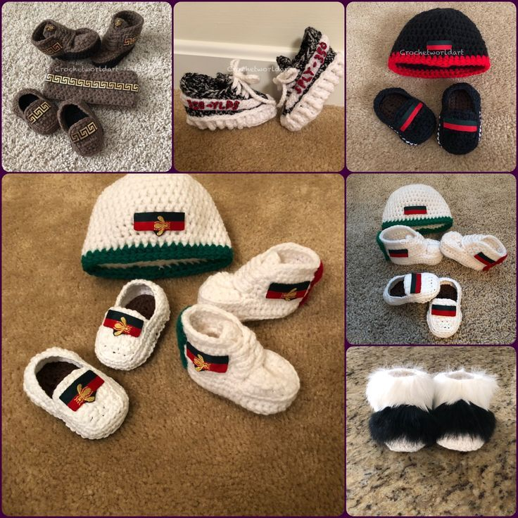 Häkeln Sie Babyschuhe Hüte und Bekleidung. Tolle Babypartygeschenke, Weihnacht… – baby shoes
