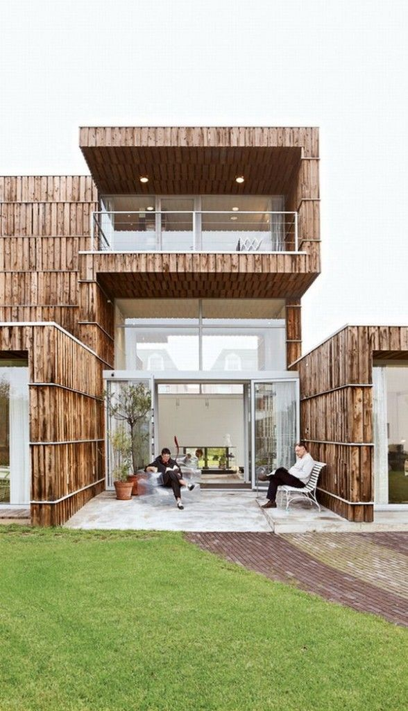 Blans-Knol-Patio recyle based home