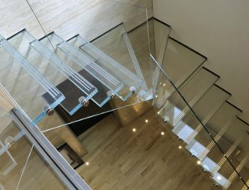 Futuristic Design: Why You Need Glass Stairs   Horner Millwork Blog