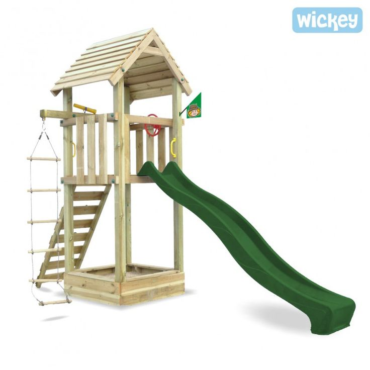 Wooden play tower Wickey Harry´s Magic Tower