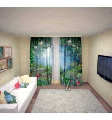 Ищете, какие приобрести шторы в зал или спальню? Отличный вариант - яркие шторы…