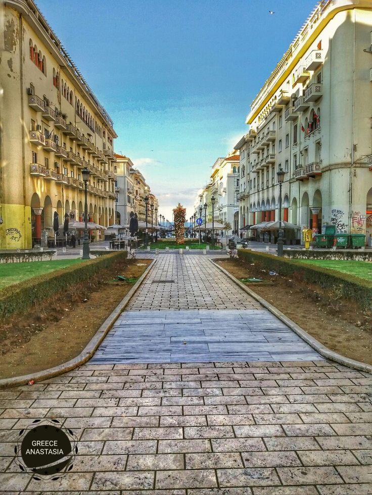 (Square Aristotelous) Thessaloniki Greece.