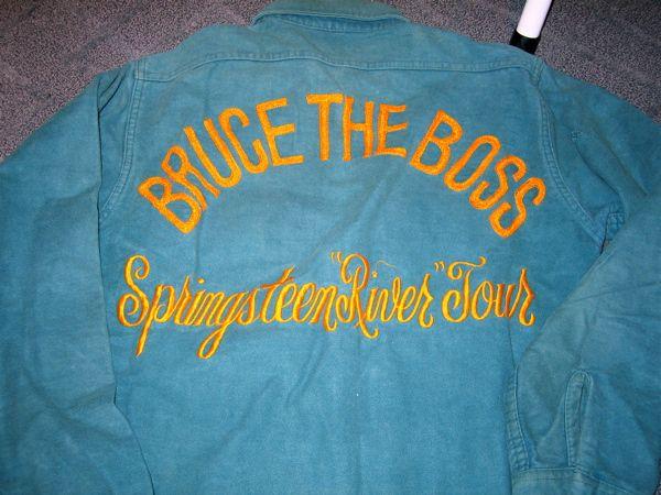 Bildresultat för bruce springsteen tour 80 shirt