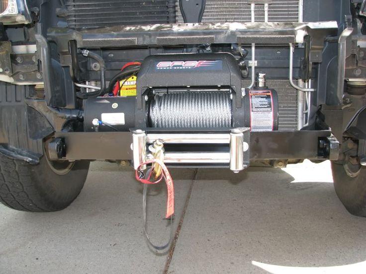 Winch in stock bumper X09 - Second Generation Nissan Xterra Forums (2005+)