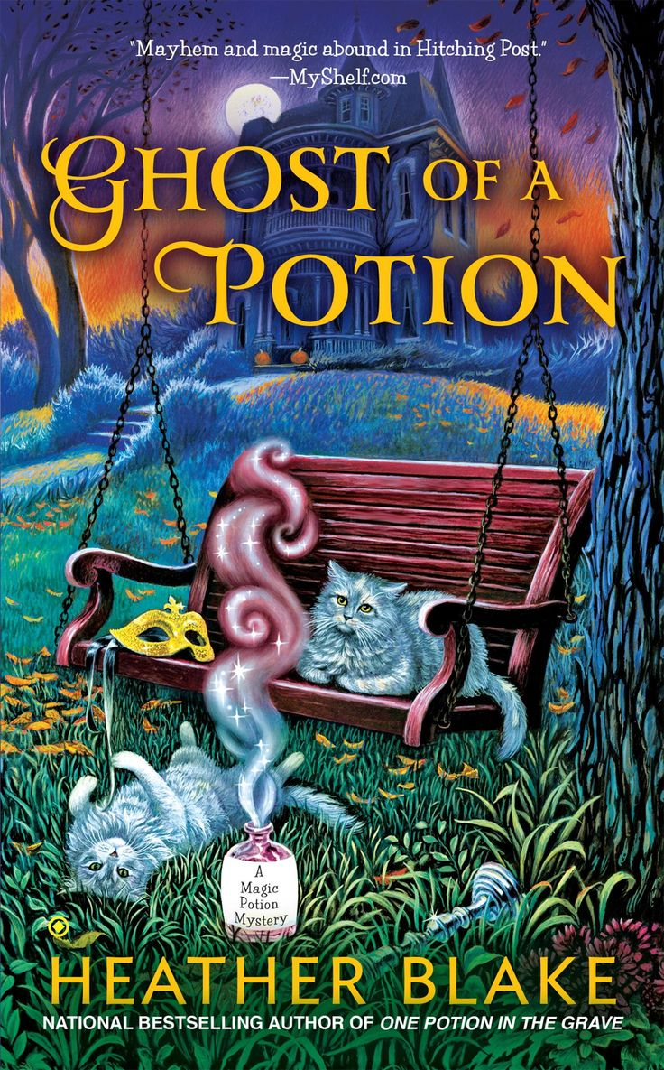 Ghost Of A Potion Book 3 Magic