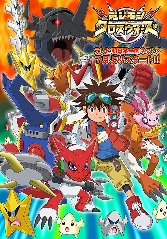 شاهد انمي Digimon Xros Wars الحلقة 20 زي مابدك فيديو ايموشن Digimon Anime Pokemon