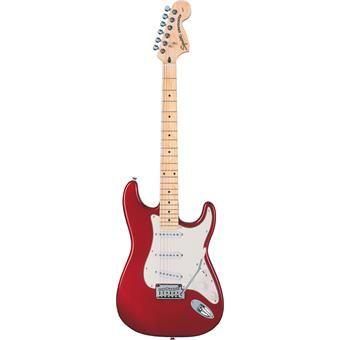 Squier Standard Stratocaster Candy Apple Red Maple elektrische gitaar