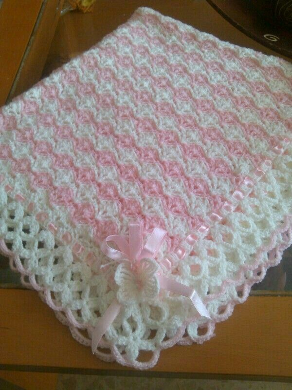 Pin de Genean Lane en crochet to try | Pinterest | Cobija, Manta y ...