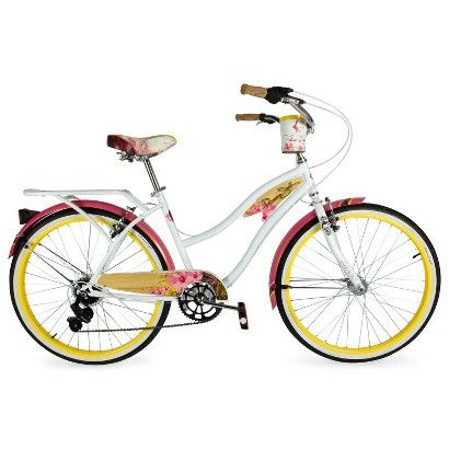Huffy Ladies Panama Jack Cruiser - 7 Speed - White - In stock at Target in  Arden!