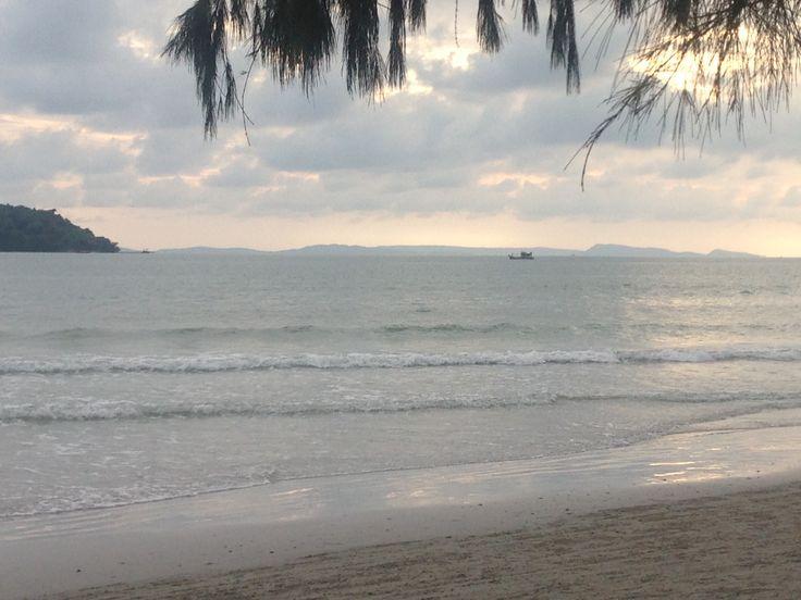 Cambodian beach life