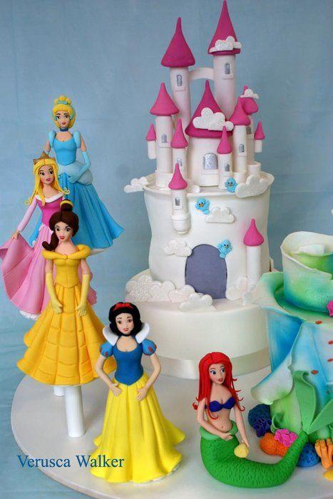 Princess Castle Cake by Verusca Walker