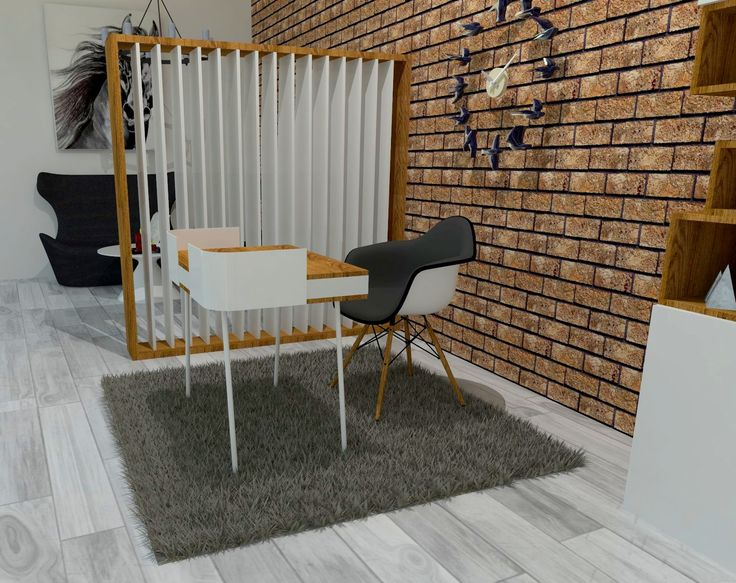Cosy workplace concept. Let us know what you think.
