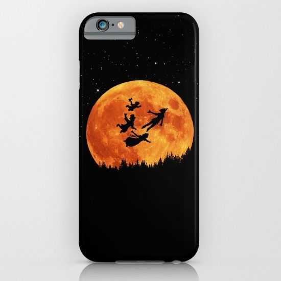 Take Me To Neverland iPhone & iPod Case